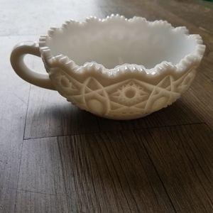 Other - Vintage Milk Glass Bowl